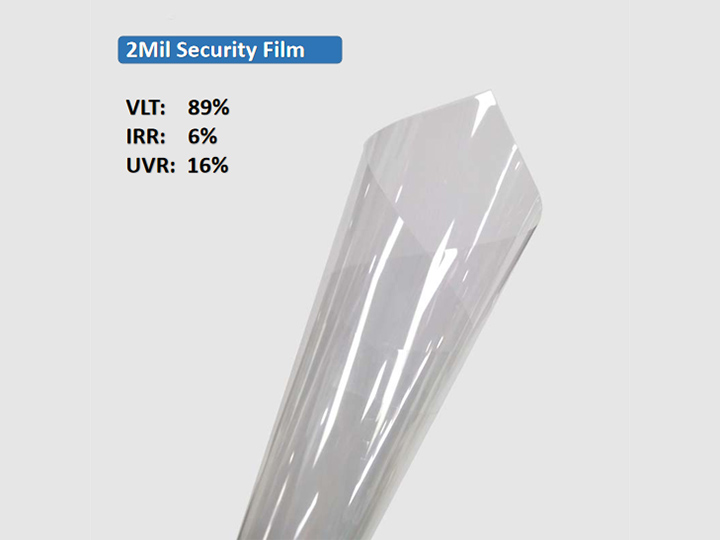 KPAL 2Mil Clear Clear Security Security Film