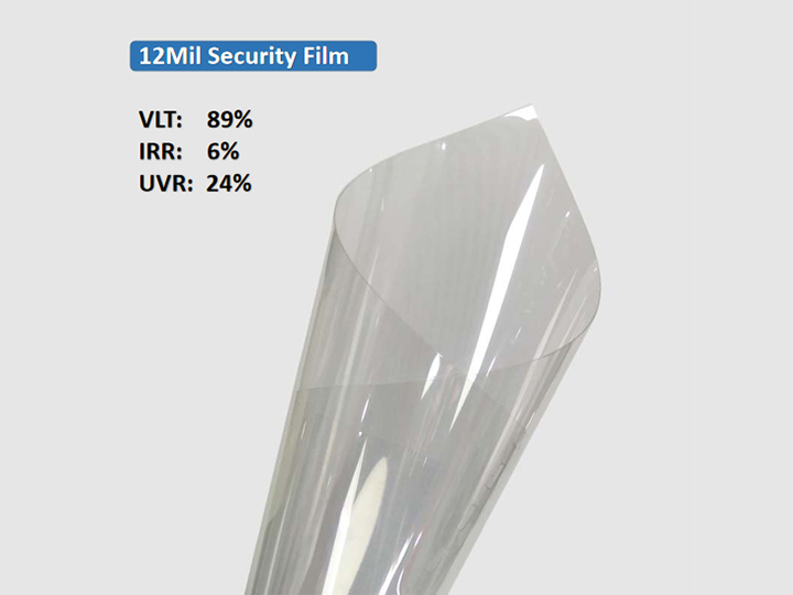 KPAL 12Mil Clear Clear Security Security Film