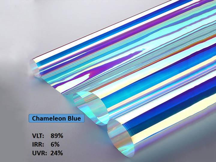 KPAL Chameleon Blue Fiimu Window Fiimu Ọṣọ Blue