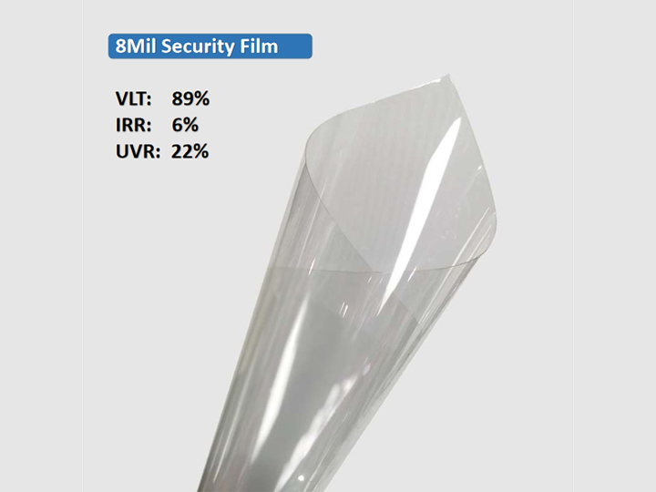 KPAL 8Mil Clear Clear Security Security Film