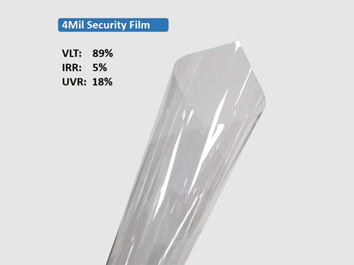 KPAL 4Mil Clear Clear Security Security Film