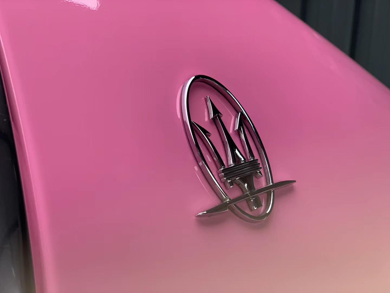 Película de vinilo envolvente rosa cristalino brillante KPAL